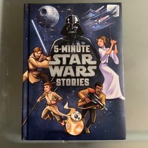 5 minutes Starwars Story Hard Cover Book